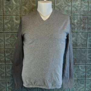 Express V Neck Long Sleeve T Shirt